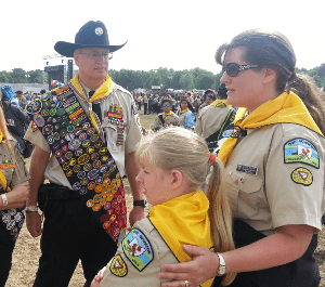 Pathfinders at Camporee