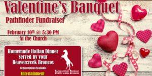 Valentine's Banquet - Pathfinder Fundraiser