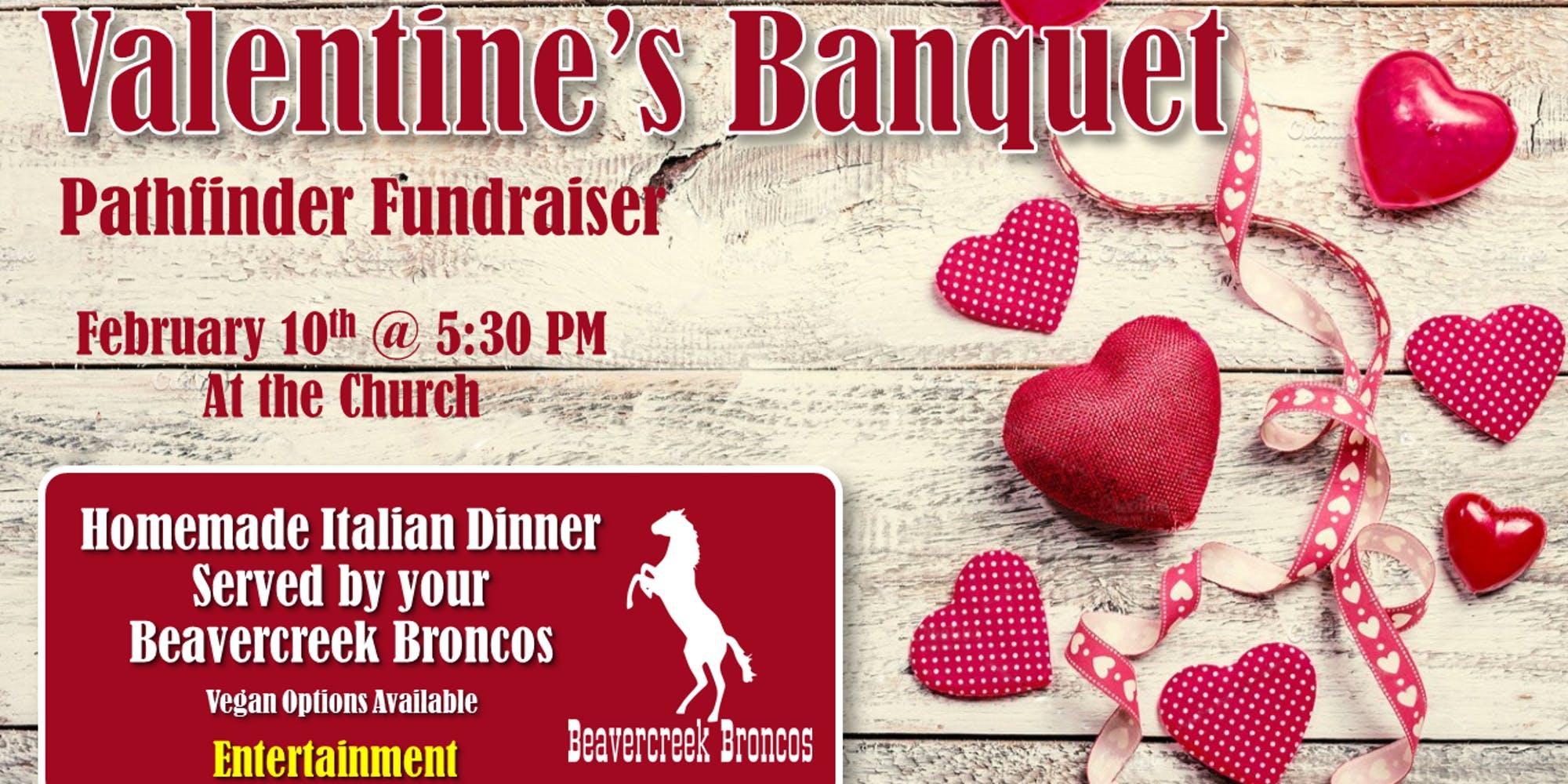 Valentine's Banquet – Pathfinder Fundraiser