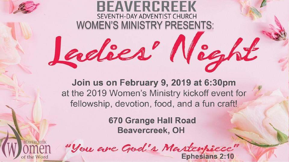 Ladies' Night 2019 - Beavercreek Women in the Word