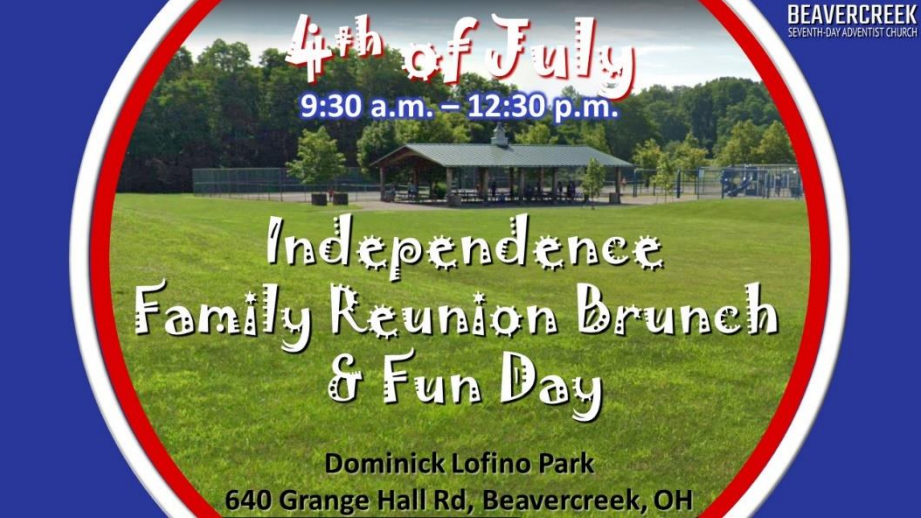 Independence Family Reunion Funday
