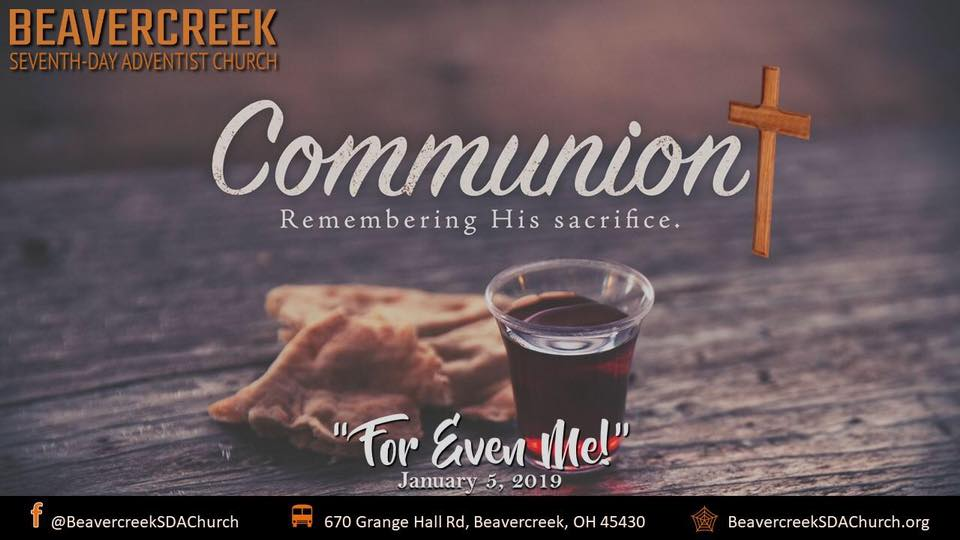 For Even Me – Communion Sabbath