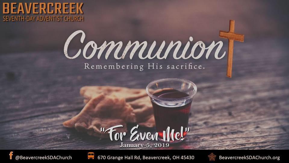 For Even Me – Communion Sabbath