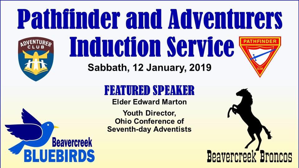 Pathfinder & Adventurer Induction Service – Obey Your Thirst