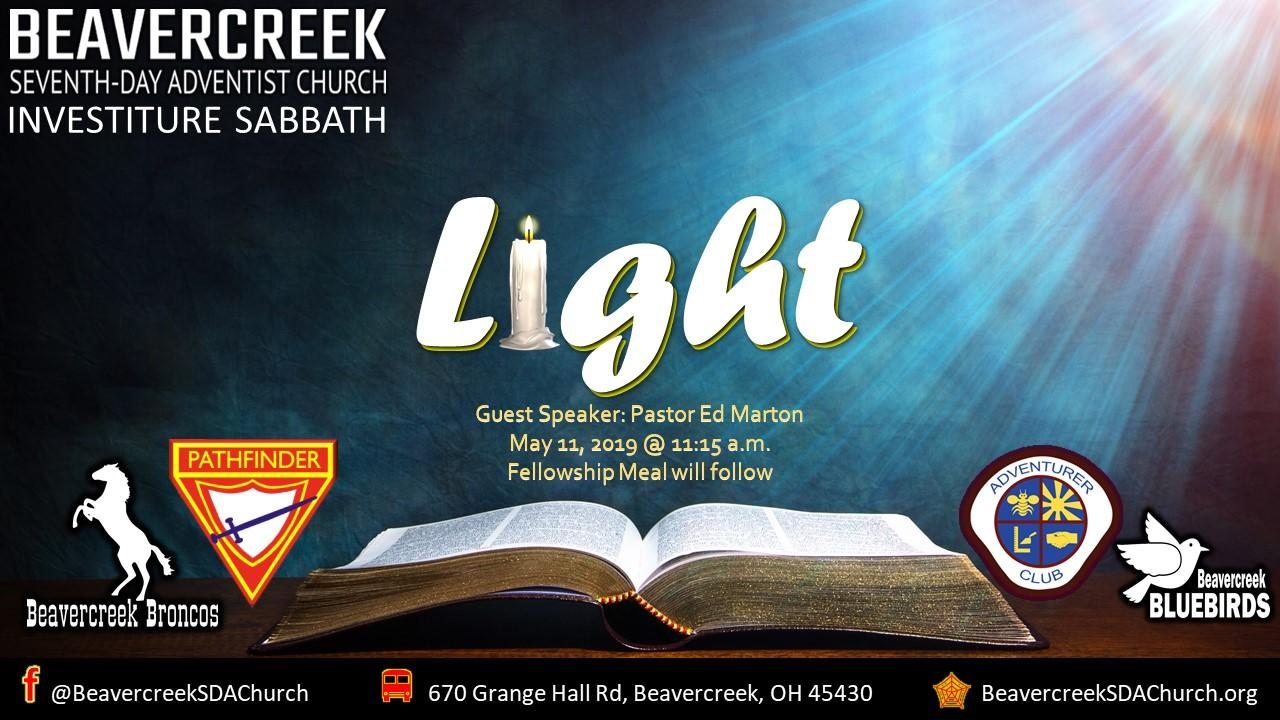 Light – Guest Speaker Pastor Marton