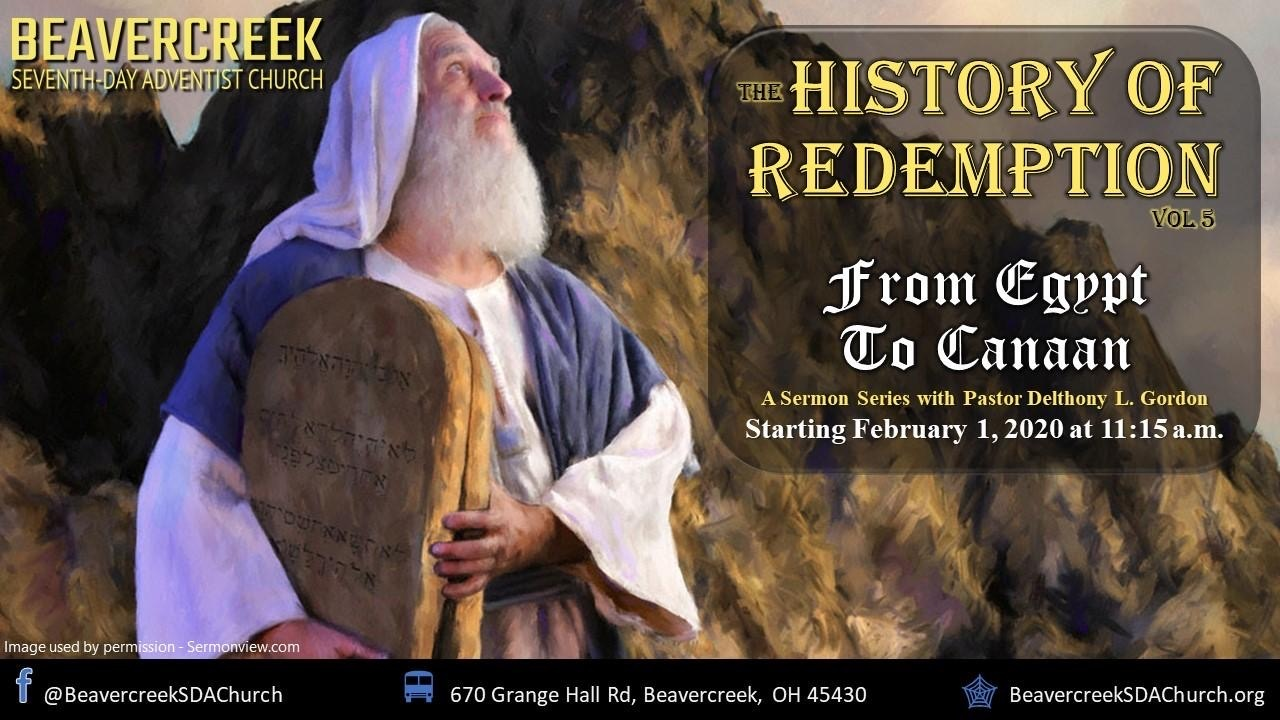 Part 1 – From Egypt to Canaan – History of Redemption Vol. 5