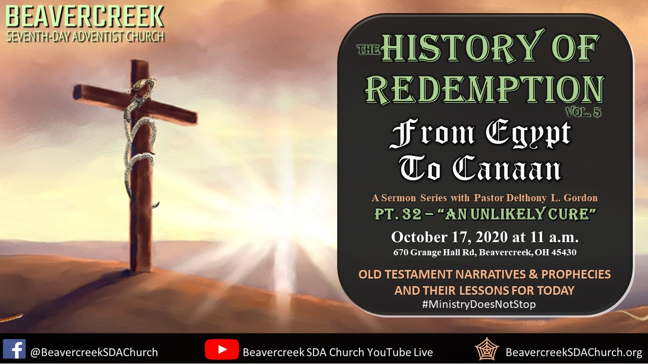 """Part 32 – """"An Unlikely Cure"""" – From Egypt to Canaan"""