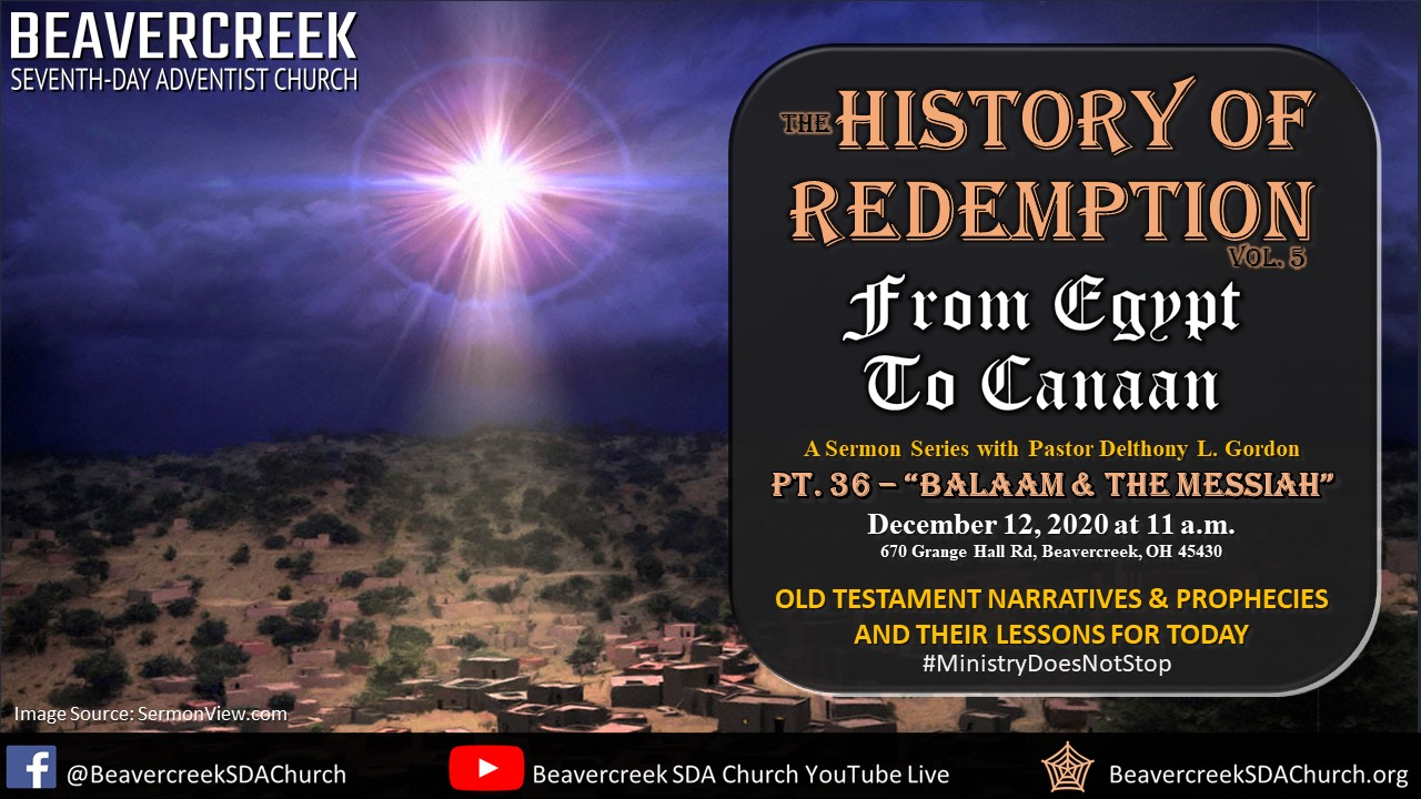 """Part 36 – """"Balaam & The Messiah"""" – From Egypt to Canaan"""