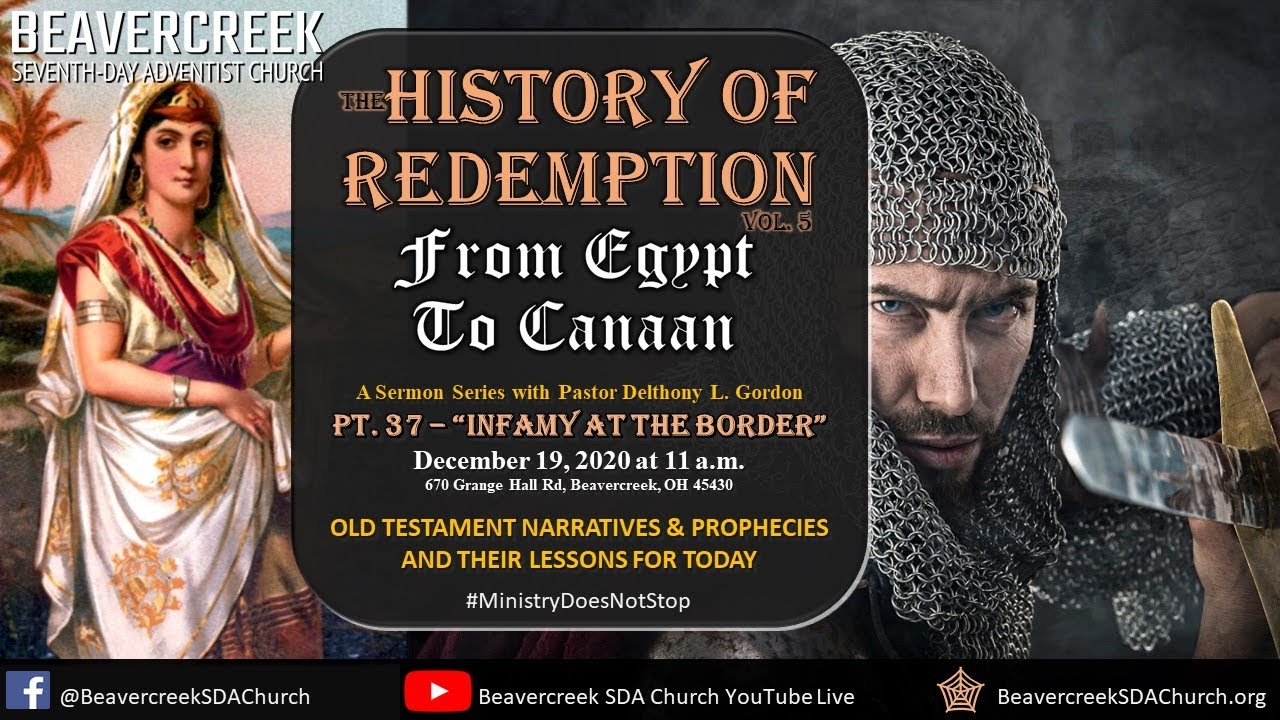 """Part 37 – """"Infamy at the Border"""" – From Egypt to Canaan"""