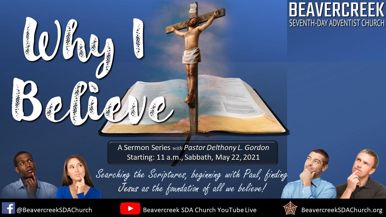 """Part 1 – """"The Gospel of the Risen Christ""""  – Why I Believe"""