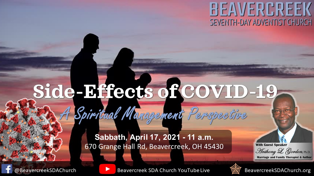 """Special Guest Elder Anthony Gordon – """"Side Effects of Covid-19"""""""