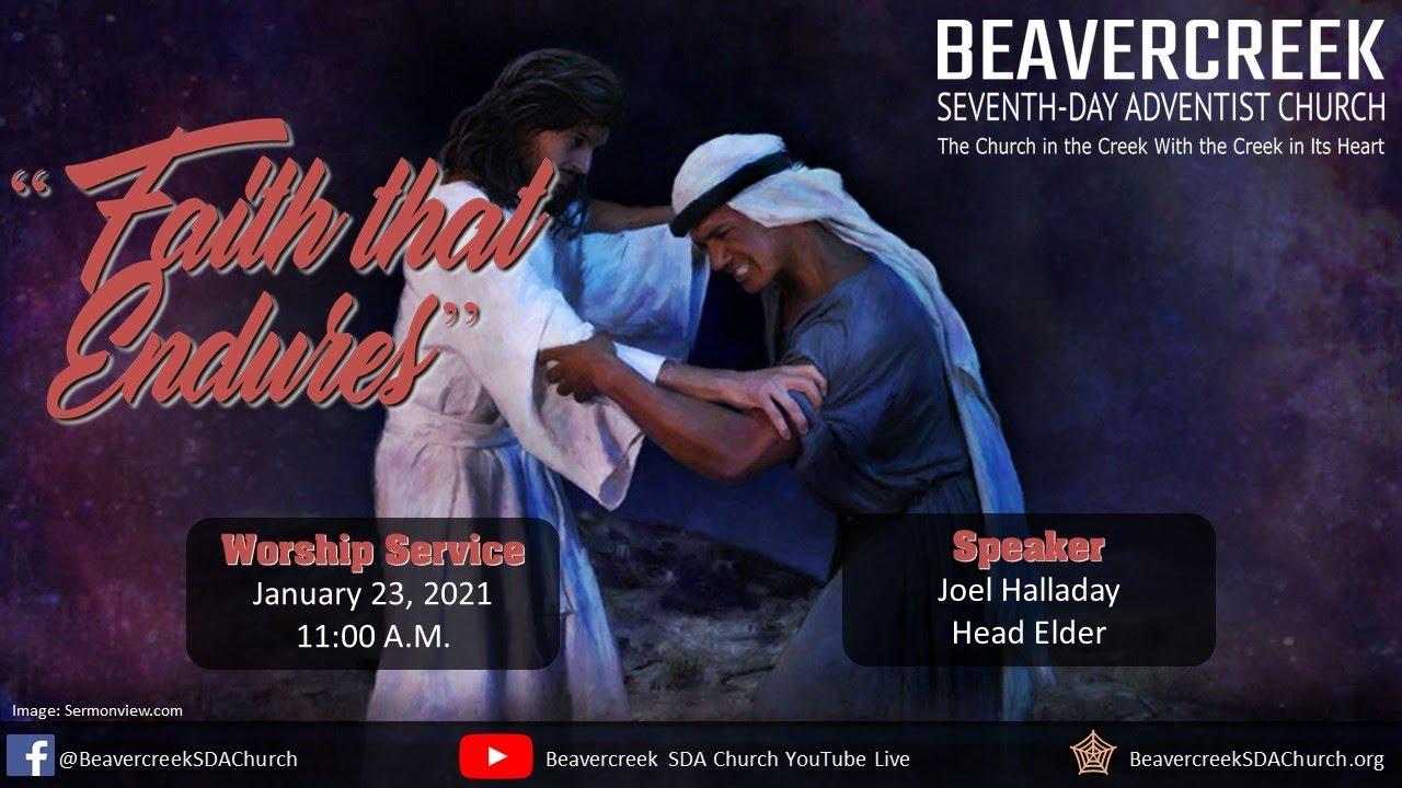"Guest Speaker Joel Halladay – ""Faith That Endures"""